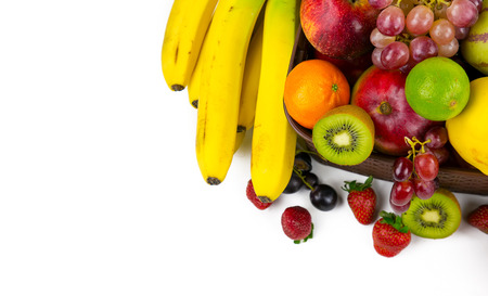 Fruits all together Stock Photo
