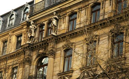 Ancient German House 写真素材