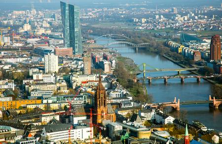 frankfurt: Cityscape Frankfurt Germany