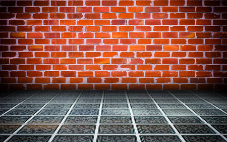 Abstract Brick Interior Walls Stage Background photo