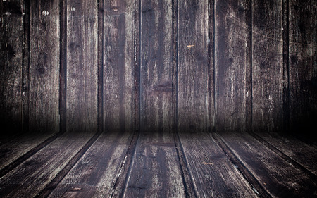 urban decay: Abstract Wooden Interior Walls Stage Background Stock Photo
