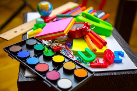 School Equipment Tools 写真素材