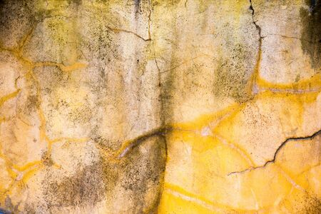 crack wall: Grunge Crack Wall Background Stock Photo