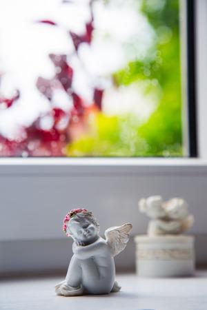 trinket: Angel Trinket Statue Near the Window