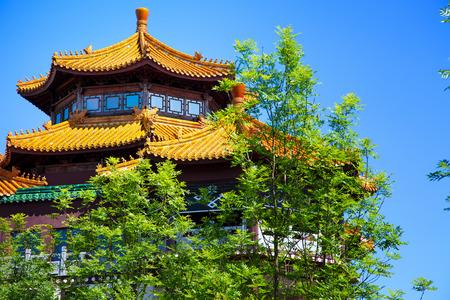 historische: Traditionele oude historische Chinese House