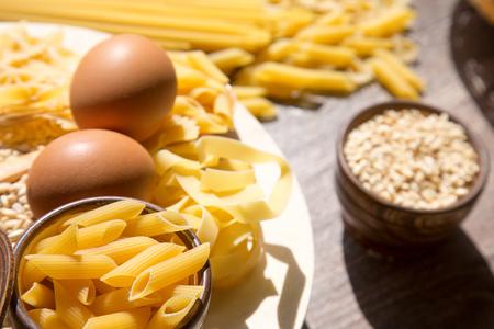 macarrones: Pasta de macarrones
