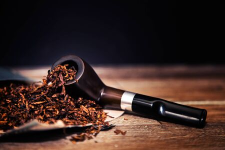 Wooden Smoking Pipe Tobacco Cigarette