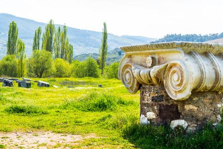 Greek Temple of Artemis near Ephesus and Sardis