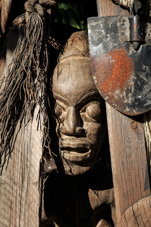 northwest indian art: African Totem Mask