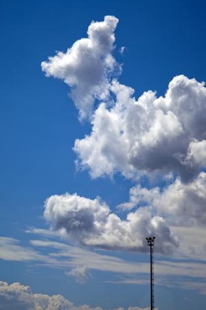 wispy: Clouds Stock Photo