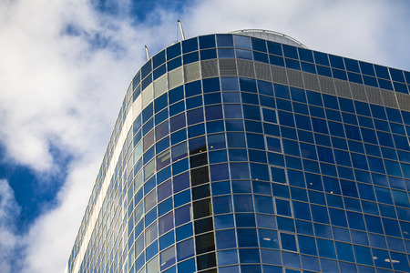 High Business Tower Landmark Stock Photo
