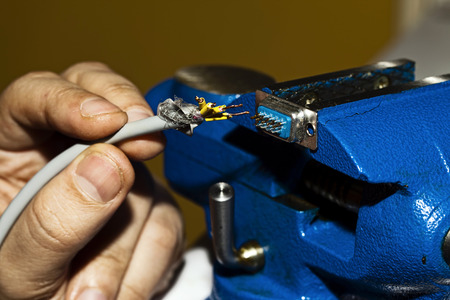 Cables and Soldering Equipment