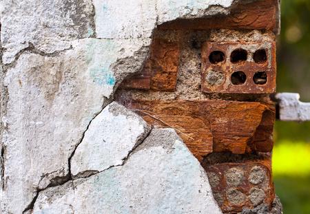 old brick wall: Stone Brick Wall Background