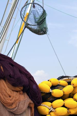 Fishing Line Fishnet Stock Photo