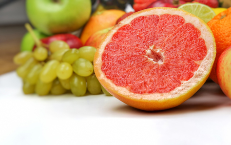 Healty Organic Mix of Fruits Compositionv