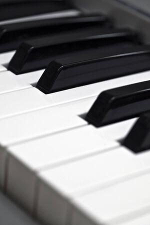 Piano Keys Musical Concept Lizenzfreie Bilder