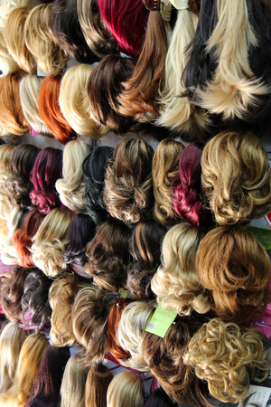 Colorful Hairstyle Toupee