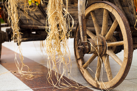 Vintage Horse Cart Carriage
