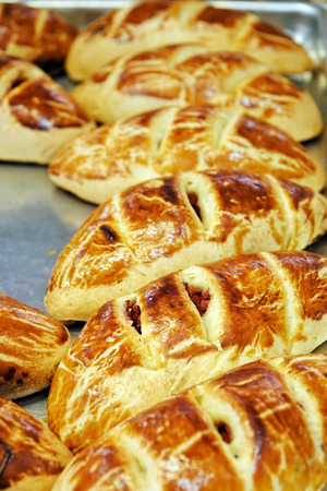 Delicious Savory Pastry Food For Breakfast Snack