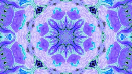Abstracte kleurrijke caleidoscoop achtergrondfoto Stockfoto