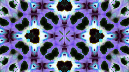 Abstract Colorful Kaleidoscope Background Photo