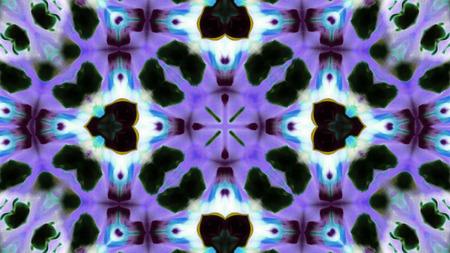 Abstraktes buntes Kaleidoskop-Hintergrund-Foto