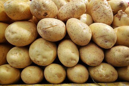 Fresh Organic Vegetable Food Potato in Grocery