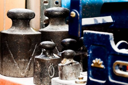 Abstract Bazaar Antiques Vintage Kilograms Weight Photo