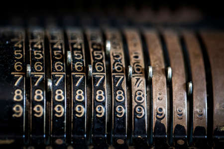 The machine used to calculate in ancient times Photo 版權商用圖片