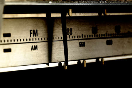 An Old Technology Radio Signal Search Display