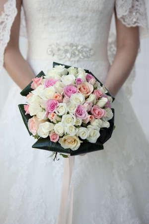 preparations: Wedding Preparations - Bride Flower Bouquet
