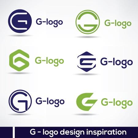G-Logo design inspiration 스톡 콘텐츠 - 104074935