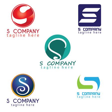 S company logo design