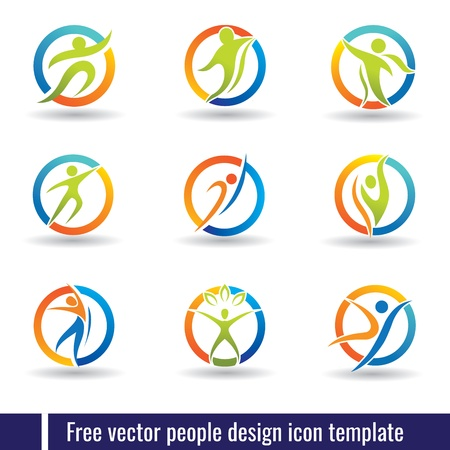 people design icon template