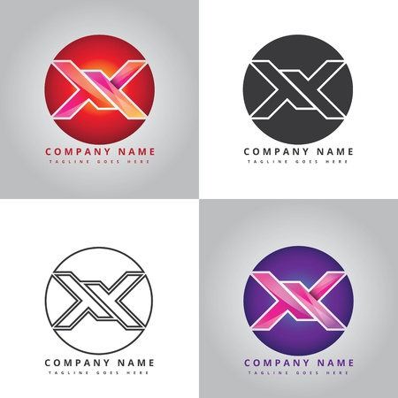 X Company Design Inspiration  イラスト・ベクター素材
