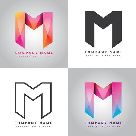 M Company design icon