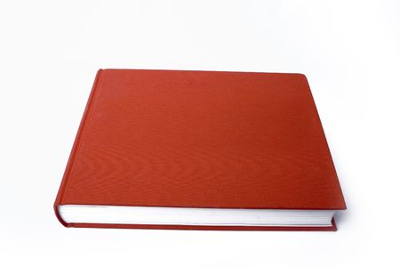 hardback: closed red book
