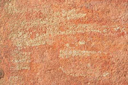smudgy: Abstract old terracotta plastered red wall texture background. Stock Photo