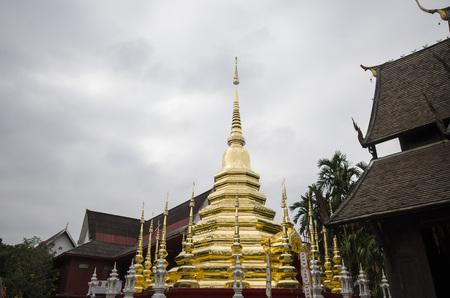 Temple in chiangmai Thailand