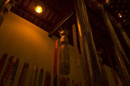 temple in Chiangmai Thailand Editorial