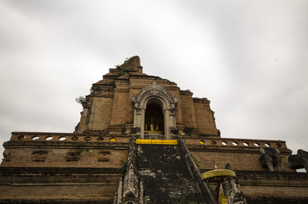 Chiangmai temple,buddhist temple in Chiangmai Thailand
