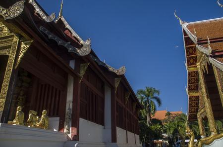 Wat Pha Singh Chiangmai Thailand,Traval in Chiangmai Thailand 写真素材