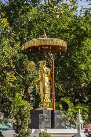 Wat Pha Singh Chiangmai Thailand,Traval in Chiangmai Thailand Stok Fotoğraf