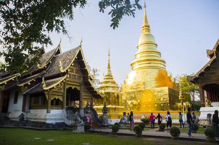 Wat Pha Singh Chiangmai Thailand,Traval in Chiangmai Thailand 報道画像