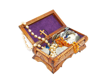 chest of jewels photo