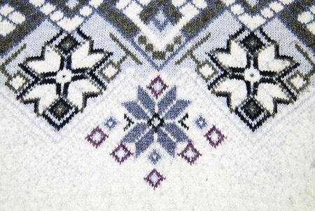 winter sweater pattern photo