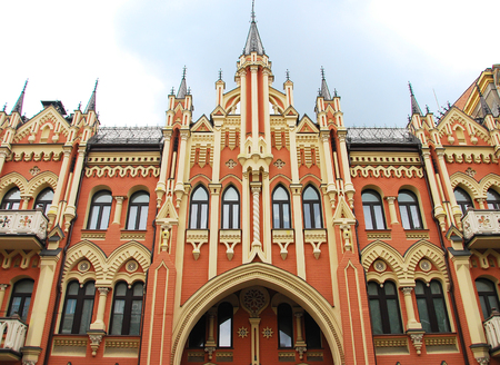 kiev: beautiful building in Kiev