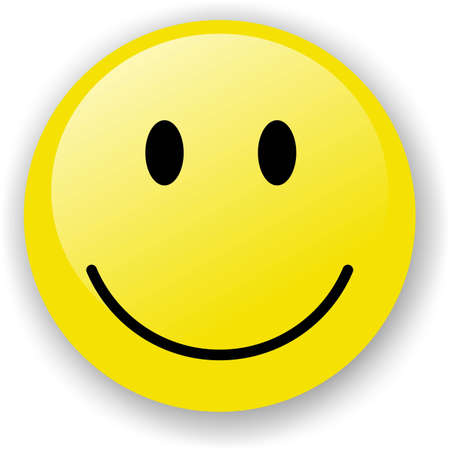 Smiley face icon Stock Photo - 4313865