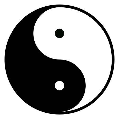 oppos: Yin-Yang, symbole de l'harmonie, l'�quilibre et l'inverse