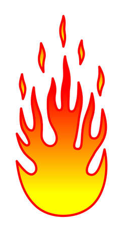 Flame Stock Vector - 4349471